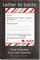 Homemade Interest - Santa Letter