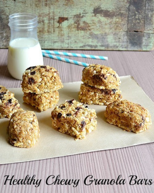 Easiest Granola Bars Ever