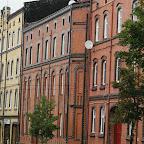 Old buildings in rather decent shape alongside Bożogrobców Street.