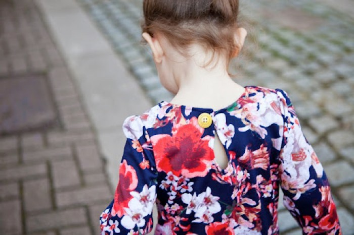 Pretty in Peplum Dress at Our Family Four 3