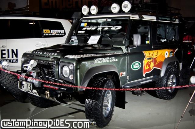 Manila Auto Salon Custom Pinoy Rides Land Roer Defender 90