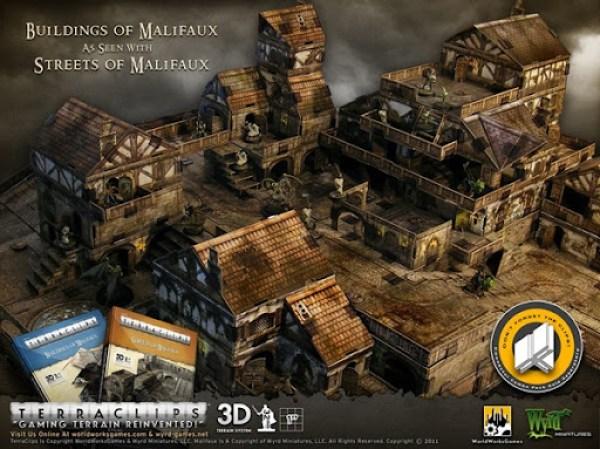 Terraclips Buildings of Malifux 1