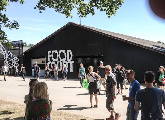 Rosklde Festival 2013 Food Court - Mikkel Bækgaards Madblog