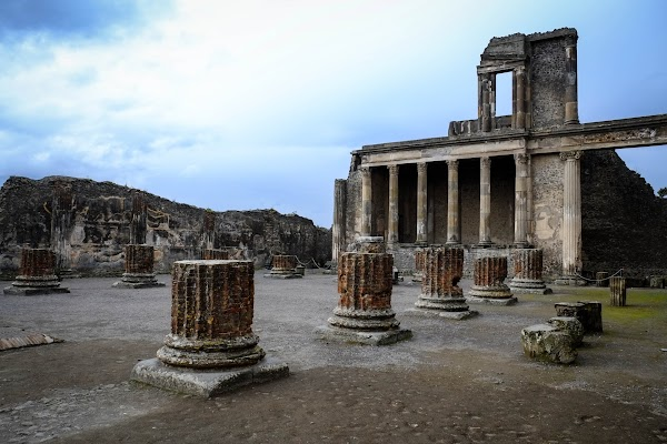 I got the X-E1 to be my travel camera: light, relatively small with great image quality! Pompeii, Italy, with the Fuji X-E1 and XF 18-55mm lens
