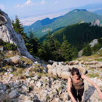 Fuji X10 - great little camera for mountain hiking