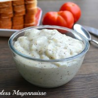Eggless Mayonnaise Recipe | Homemade Low Fat, Gluten Free Mayonnaise