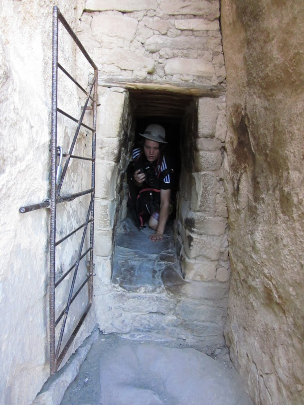 Sam Exiting Tunnel.JPG
