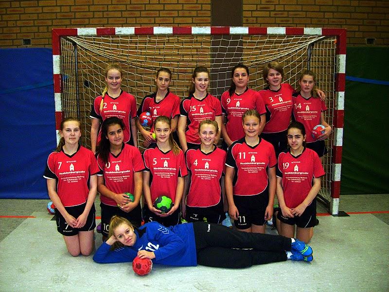 Weibliche C2-Jugend 2014/2015