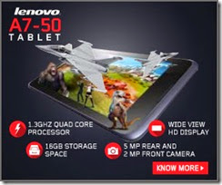 lenovo A7 0 offer buytoearn
