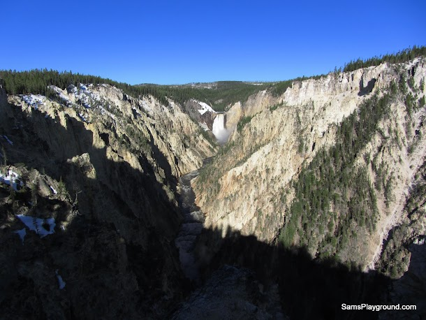 Canyons & waterfalls in Yellowstone - one and the same