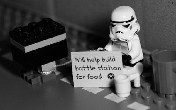 LEGO Stromtrooper will help