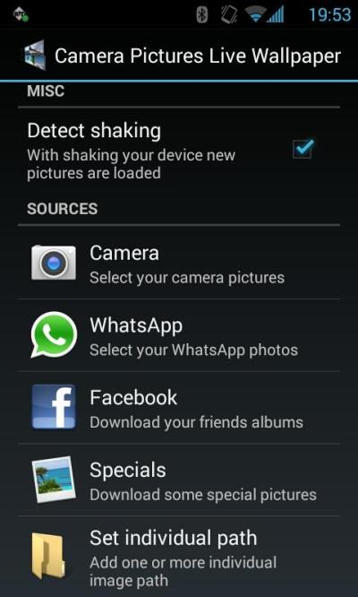 Camera Pictures Live Wallpaper - Android Apps on Google Play