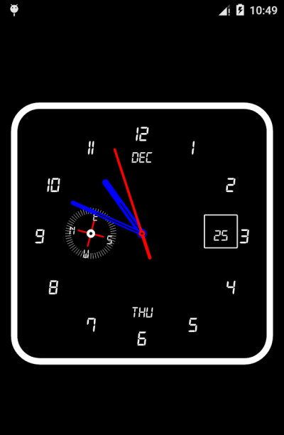 Clock Live Wallpaper - Android Apps on Google Play