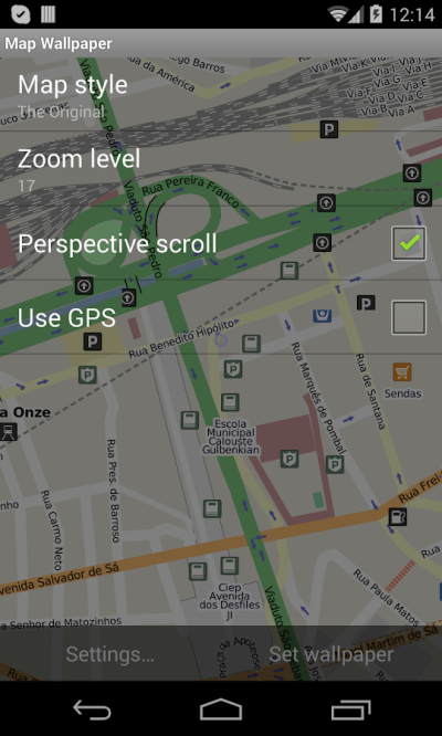 Map Live Wallpaper - Android Apps on Google Play