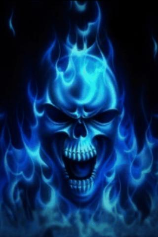 Blue Skull Live Wallpaper - Android Apps on Google Play