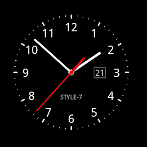 Analog Clock Live Wallpaper-7 - Android Apps on Google Play