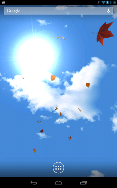 Falling Leaves Live Wallpaper - Android Apps on Google Play
