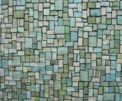Piscina com mosaico