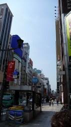 Uno scorcio di Ginza