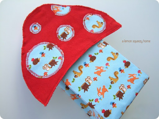 Little Critter Lunch Bag Mushroom Lunch Bag Tutorial