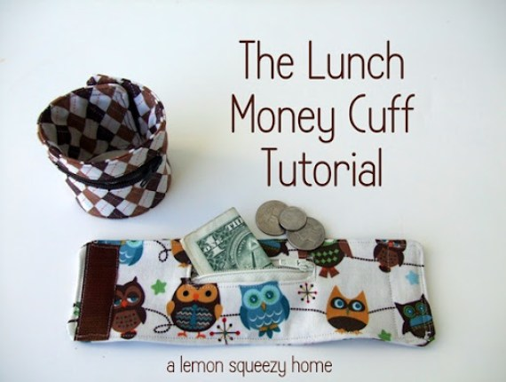 The Lunch Money Cuff Tutorial {a lemon squeezy home}