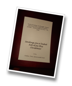 How to make inexpensive custom holiday photo greeting cards the the thank you cards i purchased from staples had a template that you could download online and use in microsoft word m4hsunfo