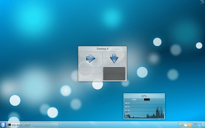Desktop Wechsel OSD
