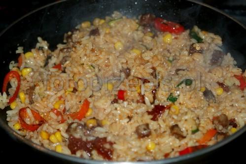 Ryż na ostro