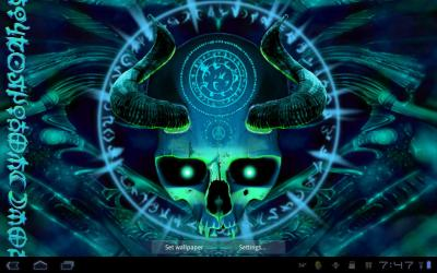 Mystical Skull Live Wallpaper - Android Apps on Google Play