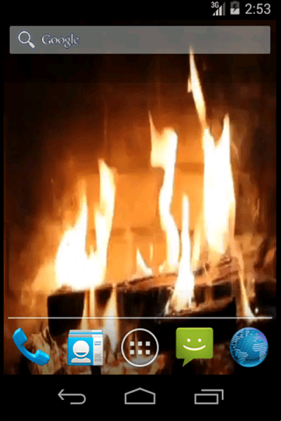 Real Fireplace Live Wallpaper - Android Apps on Google Play