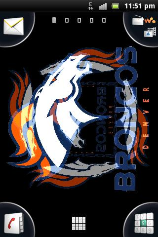 3D Broncos Live Wallpaper (android)