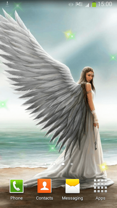 Angels Live Wallpaper - Android Apps on Google Play