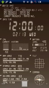Device Info Ex Live Wallpaper - Android Apps on Google Play