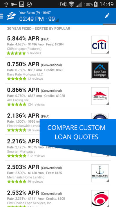 Zillow Mortgage Calculator - Android Apps on Google Play