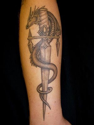 Dragon Tattoo for Arms