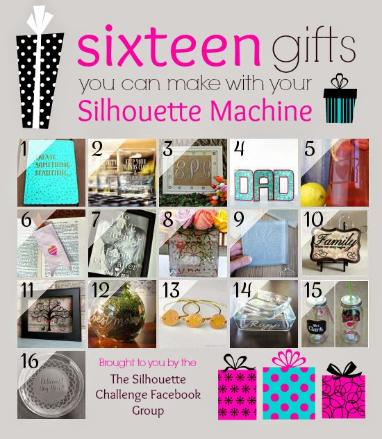 Sixteen Gifts You Can Make with Your Silhouette Machine! | Where The Smiles Have Been