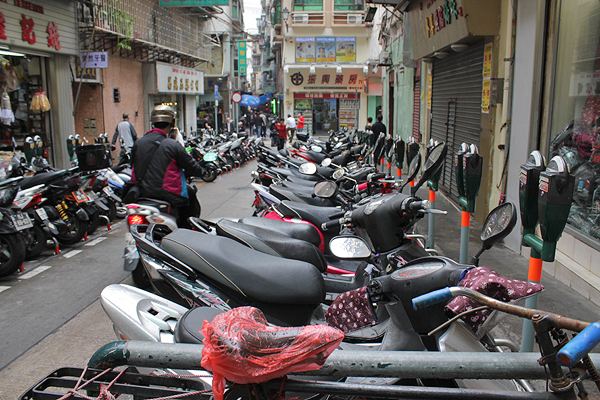 macau bike parking, macau parking laws