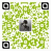 老黑資源分享站QR Code設計