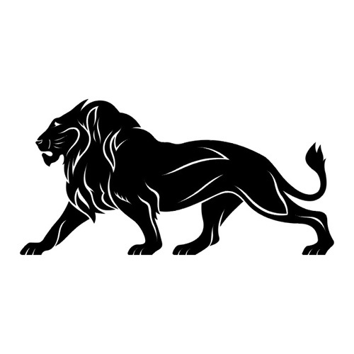 pictures of lion tattoos
