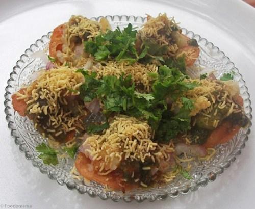 Sev Puri Recipe (Mumbai Sev Poori)