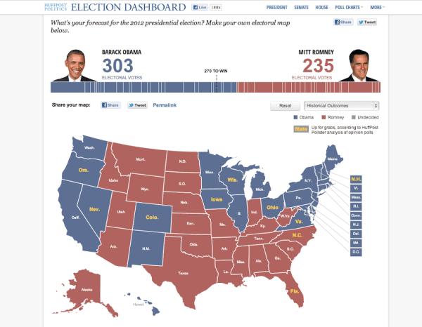 Bill Cammack 2012 Election Prediction