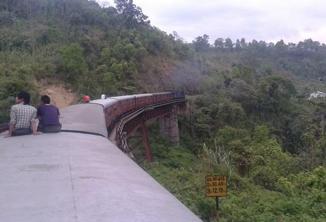 lumding silchar train