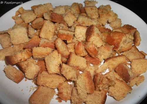Croutons Recipe from scratch