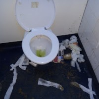 The worst toilet ever?