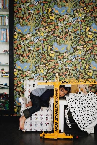 Wallpaper is Nympheus by GP & J Baker. | GP&J Baker Wallpapers & Fabrics | Pinterest | Wallpapers