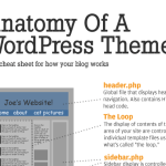 Infographic :The Anatomy of a WordPress Theme