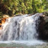 Air terjun Serendah mandi manda paling syiok