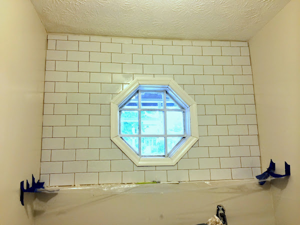 laundry room tile backsplash