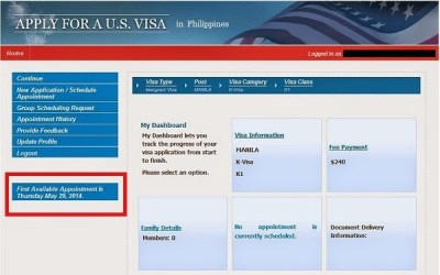 Sample Of Appointment Letter For K1 Visa - k1 fiance visa process guide step by instructions ...