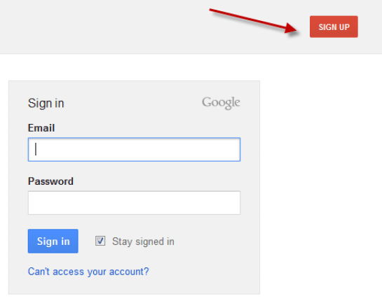 Create Google Places Account